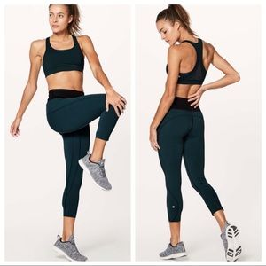 Lululemon Run The Day Crop 6 Nulux Naked High Rise